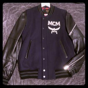 MCM Outerwear Bomber Stadium Varsity Jacket